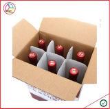 Rectángulo de empaquetado para la cerveza y el vino