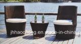 Комплект вазы ротанга стула чашки ротанга