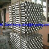 Barandillas de acero galvanizadas del tubo de la INMERSIÓN caliente para las vallas de seguridad