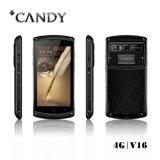 Teléfono IP 68 Mtk6735 Tri-prueba Quad Core de 5.0 pulgadas Gorilla Glass móvil con la huella digital Función 4G Smartphone