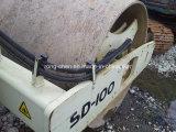 Rouleau de route utilisé du compacteur SD100 d'Ingersoll-Couche-point à vendre