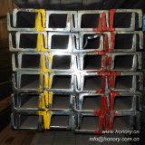 タンシャンの製造業者(Uチャンネルの鋼鉄)からの熱間圧延の多灯形チャネルの鋼鉄