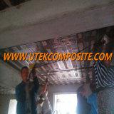 fibra do carbono da largura de 10cm para o edifício do reforço