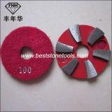 Almofada do assoalho do diamante da ligação do metal CD-13 para o granito que mmói o polonês