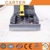 Máquina escavadora hidráulica de CT16-9dp (com dossel) Crawle mini