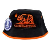 Chapéu de balde dobrável com bordado barato personalizado (A369)