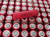 Bateria recarregável do Li-íon elevado da taxa 3.7V 2500mAh da descarga Lghe2