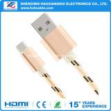De in het groot Kabel van de Lader van de Kabel USB USB van de Telefoon type-C van de Cel