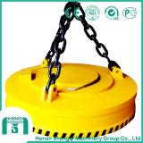Mandril eletromagnético de levantamento do ímã do guindaste para segurar as placas de aço