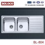 Dissipador de cozinha do aço inoxidável (BL-804)