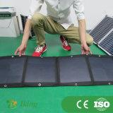 bolso solar Sunpower del bolso portable de la energía solar de 50W