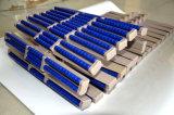 Corrente superior plástica superior do rolo no produto comestível