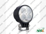 lumière de travail de 12W LED, lumière de travail de 12V 24V LED pour les camions/Jeep/SUV