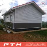 Casa luxuosa pré-fabricada da casa de campo do aço claro da alta qualidade 2016