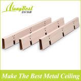 Plafond de gril suspendu par aluminium en bois chaud de couleur de 2017 ventes