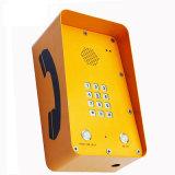 Telefone impermeável resistente Kntech Knsp-09A do túnel do sistema de segurança do telefone