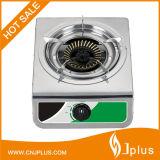 Heißes Verkaufs-Edelstahl-Panel-einzelner Brenner-Gas-Kocher Jp-Gc105