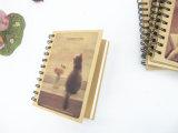 De Spiraalvormige Notitieboekjes van Hardcover van het Document van Kraftpapier van de Druk van de douane