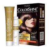 Teinture de cheveu de Colorshine de soins capillaires de Tazol (acajou) (50ml+50ml)