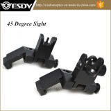 Ar15 Ar-15 Front Rear Flip 45 Degree Backup Iron Sight