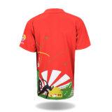 Chemise de polo occasionnelle personnalisée par mode de 2016 Mens d'impression