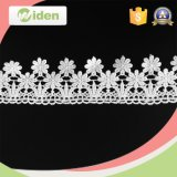 Шнурок химиката ткани шнурка цветка сетки поставщика ткани платья