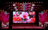 3 años de la garantía P4.8 HD del alquiler de LED de pantalla a todo color de la visualización LED