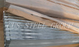 水波の電流を通された鋼鉄屋根ふきシートか波形を付けられた金属の屋根シート