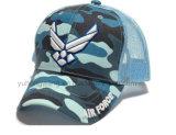 A forma ostenta o chapéu, tampão novo da era do basebol do projeto