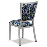 Chaise dinante en aluminium de restaurant d'hôtel