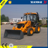 ATV Offroad 4 Wheel Drive Backhoe Loader com Digger