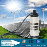 Pompe sommerse mezzo sommergibile centrifugo solare dell'acqua di pozzo profondo