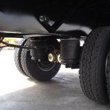 14.5mの2車軸低下の側面の貨物セミトレーラー