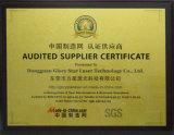 Eingetragenes Warenzeichen CCD Laser-Ausschnitt-Maschine Gls-1080V