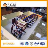 Modelos modelo mecánicos/modelo/modelos industriales/nuevo modelo de la exposición de la visualización de la energía