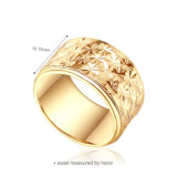 Дубай людей покрынных кольцо золотом для венчания (SH-0438R)