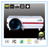 OEM New Generation HDMI Video LED TV Projector Support 1080P