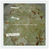 Mattonelle di marmo beige/bianche cinesi di Onxy per la parete ed il pavimento