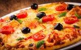Kommerzieller voller Edelstahl-Pizza-Ofen für Schnellimbiss-Gaststätte