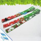 Matéria têxtil Woven Wristband para Sale