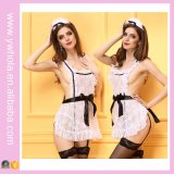 Ladies Sexy Lingerie Maid Uniform Womens Sexy Underwear Lingerie en dentelle