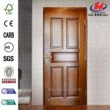 Porte en bois de placage simple de Chambre