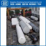 El tanque de almacenaje criogénico del GASERO del petrolero químico industrial