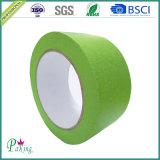 Ninguna cinta adhesiva da alta temperatura del papel de Crepe del residuo del pegamento