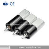 pequeño motor de reducción del engranaje de la alta torque 12V con la caja de engranajes