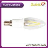 Filamento de encargo del bulbo de la bombilla B22 LED del filamento
