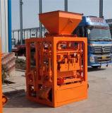 Halb automatischer konkreter Kleber-Höhlung-Ziegelstein-Block, der Maschine herstellt