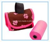Distributeur mou promotionnel de sac de dunette de chien de tissu de nouvelle conception d'usine de fabricant