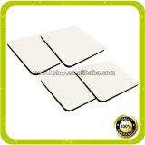 Coaster cru do MDF do Sublimation quadrado da qualidade superior 9X9cm de China