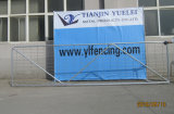 안전 판매를 위한 가축 위원회가 검술을%s 건물에 의하여 용접된 철강선 메시 임시 담 Panel/PVC에 의하여 입힌 용접한 위원회에 의하여 또는 직류 전기를 통했다